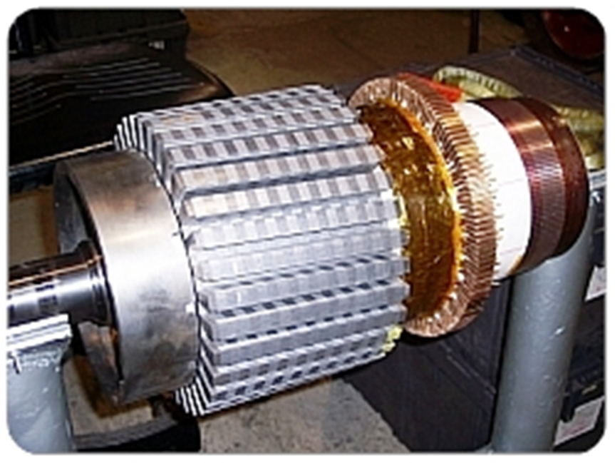 Rewind induction for Advanced dc motors inc
